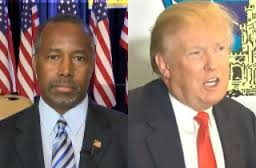 Image result for BEN CARSON DONALD TRUMP