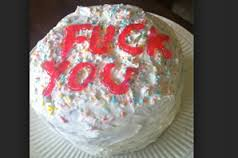 Image result for fuck you cAke