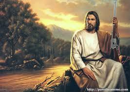 Image result for JESUS SHOOTING GUN