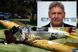 Image result for harrison ford plane crash